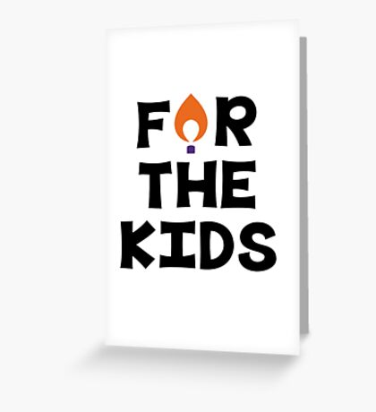 For The Kids--Clemson University Greeting Card