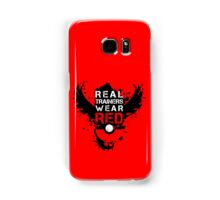 Real Trainers Wear Red Samsung Galaxy Case/Skin