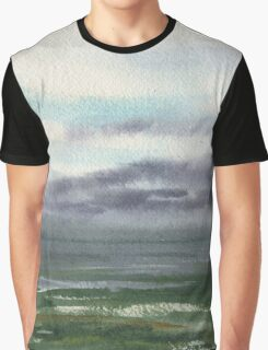 Ocean Storm Seascape Graphic T-Shirt