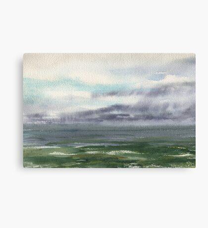 Ocean Storm Seascape Canvas Print