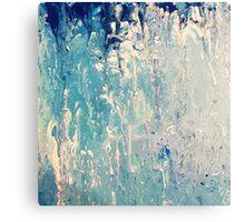 Shades of Blue.  Canvas Print