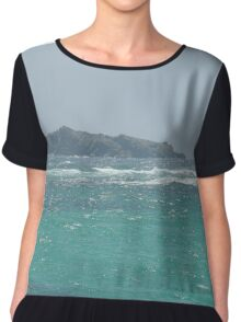 A Rock Among Troubled Waters Chiffon Top