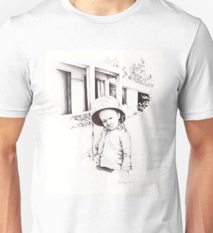 Vietnam~Through my Dads Camera Lens~Vietnamese Boy Unisex T-Shirt