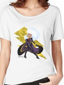 FIERCE LIKE LIGHTNING Women's Relaxed Fit T-Shirt