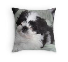 Suzi's  Baby Picture at 7weeks Throw Pillow