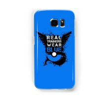 Real Trainers Wear Blue Samsung Galaxy Case/Skin
