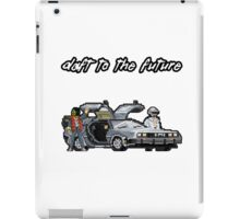 Daft to the future iPad Case/Skin