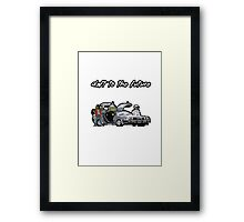Daft to the future Framed Print