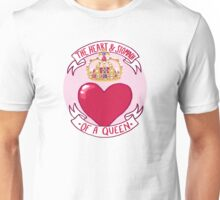 The Heart and Stomach of a Queen Unisex T-Shirt