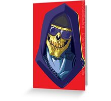 Skeletor - Rappers of the Universes [Heman] Greeting Card