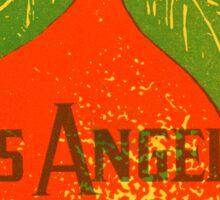 1925 Los Angeles California Sticker