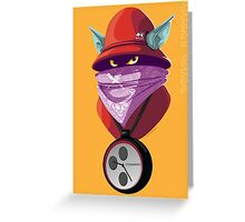 Orko Rappers of the Universe [He-Man] Greeting Card