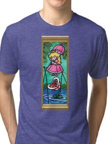 Mario Meets the Mansion Tri-blend T-Shirt