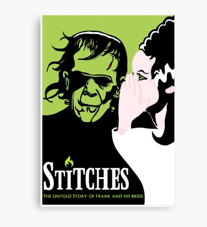Stitches Canvas Print