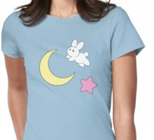 Rabbit of the Moon Womens Fitted T-Shirt