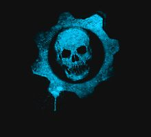 Blue skull gear Unisex T-Shirt
