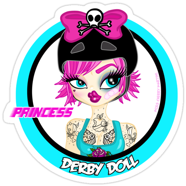 Princess Derby Doll by Miss Cherry  Martini