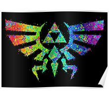 Legend of Zelda - Triforce Poster