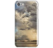 Thunder Over The Gulf  iPhone Case/Skin