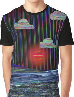 Sunglitch Graphic T-Shirt