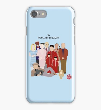 The Royal Tenenbaums iPhone Case/Skin