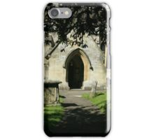 St. Andrews, Castle Combe. England iPhone Case/Skin