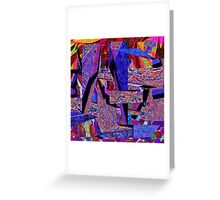 0357 Abstract Thought Greeting Card