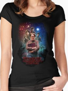 Stranger Things - Barbara Things Women's Fitted Scoop T-Shirt