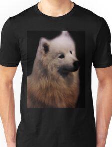 Samoyed Portrait Unisex T-Shirt