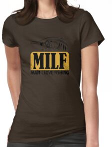 MILF Womens Fitted T-Shirt
