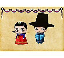 Korean Chibis Photographic Print