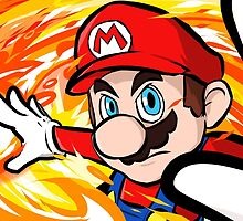 Mario | Fireball by ishmam