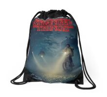 Stranger Things Tv Series Drawstring Bag
