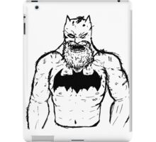 Old Man Batman iPad Case/Skin