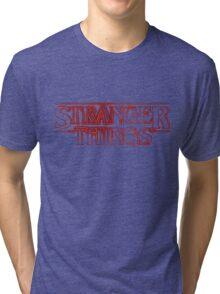 Stranger Things Television Tri-blend T-Shirt