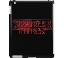 Stranger Things Television iPad Case/Skin
