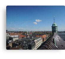 Rooftop seat: Copenhagen Canvas Print