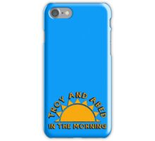 Community - Troy and Abed in the morning iPhone Case/Skin