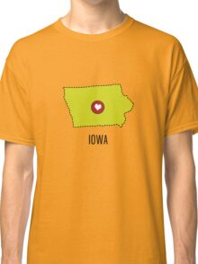 Iowa State Heart Classic T-Shirt