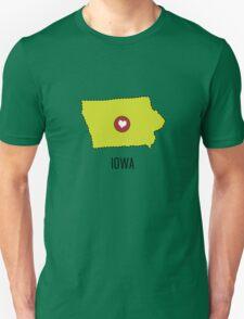 Iowa State Heart Unisex T-Shirt
