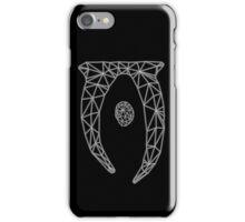 80's Cyber Oblivion and Skyrim Elder Scrolls Logo iPhone Case/Skin