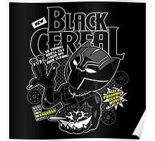 Black Cereal Poster