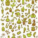 Witches Supplies by JadeGordon