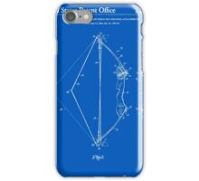 Archery Bow Patent - Blueprint iPhone Case/Skin