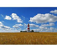 Lighhouse in the corn Photographic Print