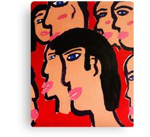red heads Canvas Print