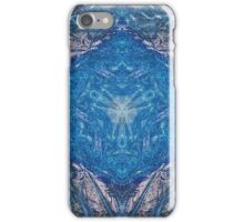 Crystalline Blue 1 iPhone Case/Skin