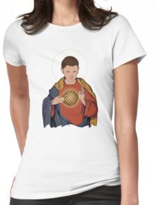 Our Lady 11  Womens Fitted T-Shirt