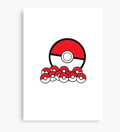 Poke Ball Canvas Print