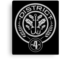 District 4 - The Hunger Games Canvas Print